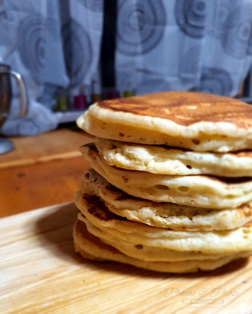 Pancake de Cyril Lignac, moelleux et fluffy