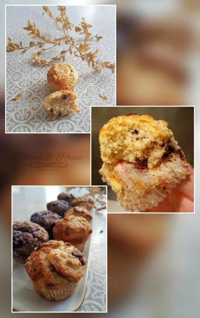 Préparation des muffins du turfu