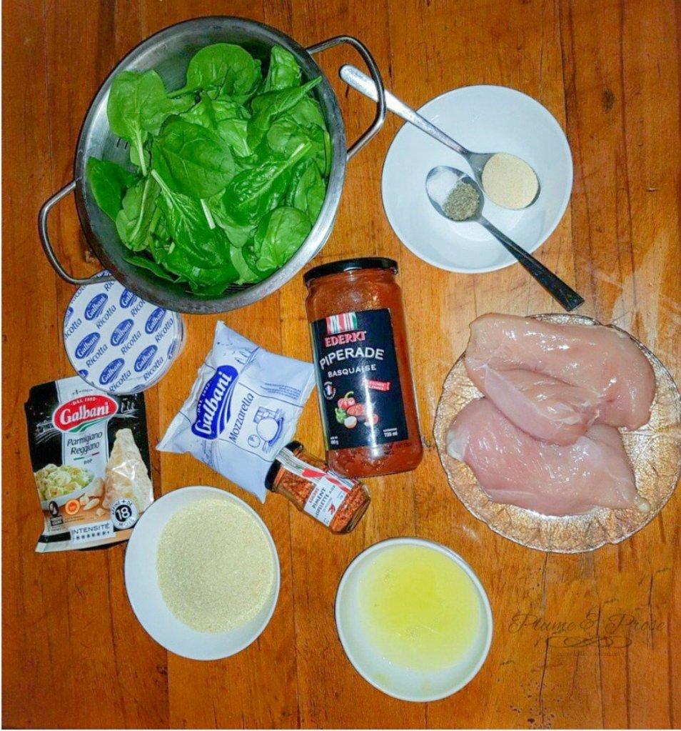 """Préparation des """"Chicken Rolls"""" Méditerranéen"""