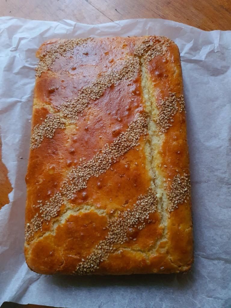 """Préparation du """"Khobz Dar"""" à la farine ou le pain brioché, sans pétrissage, ultra moelleux"""