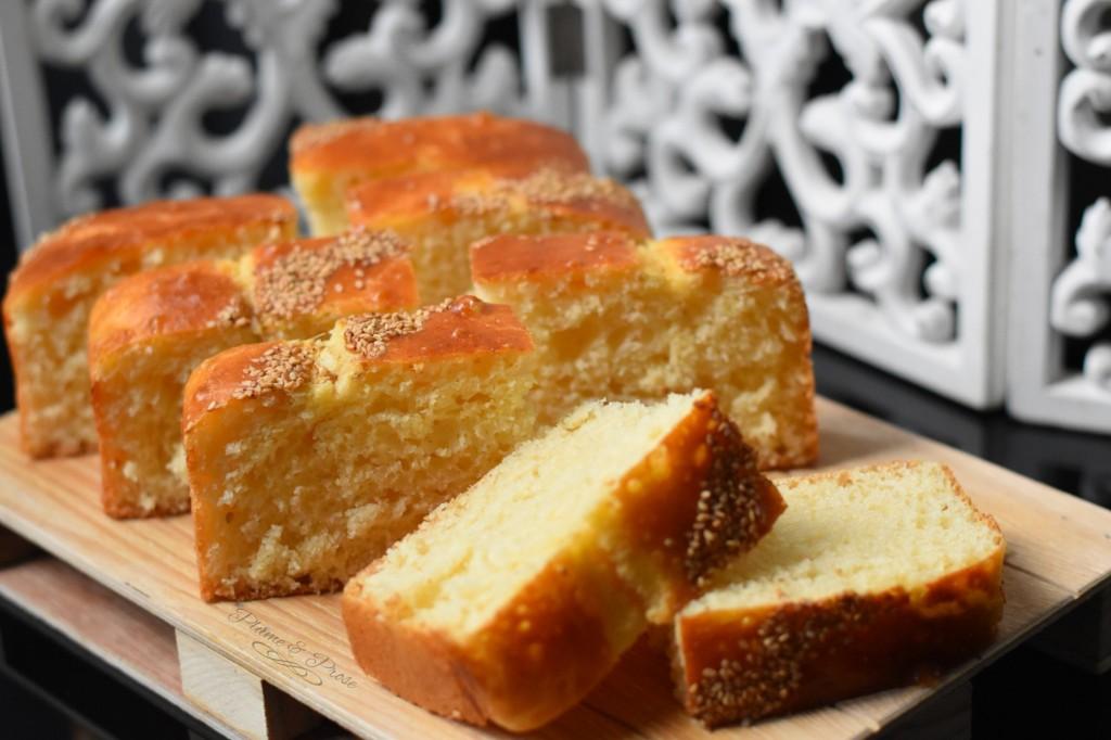 """""""Khobz Dar"""" à la farine ou le pain brioché, sans pétrissage, ultra moelleux"""