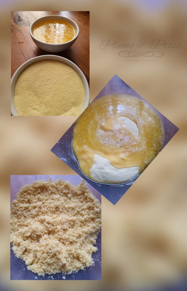 Préparation des makrouts originels au four