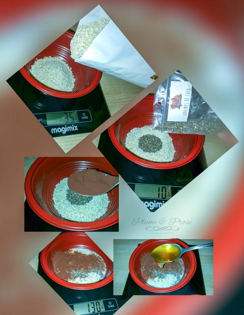 Préparation du porridge