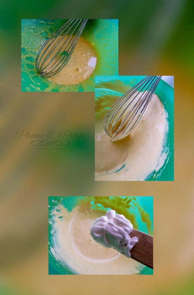 Préparation du tiramisu