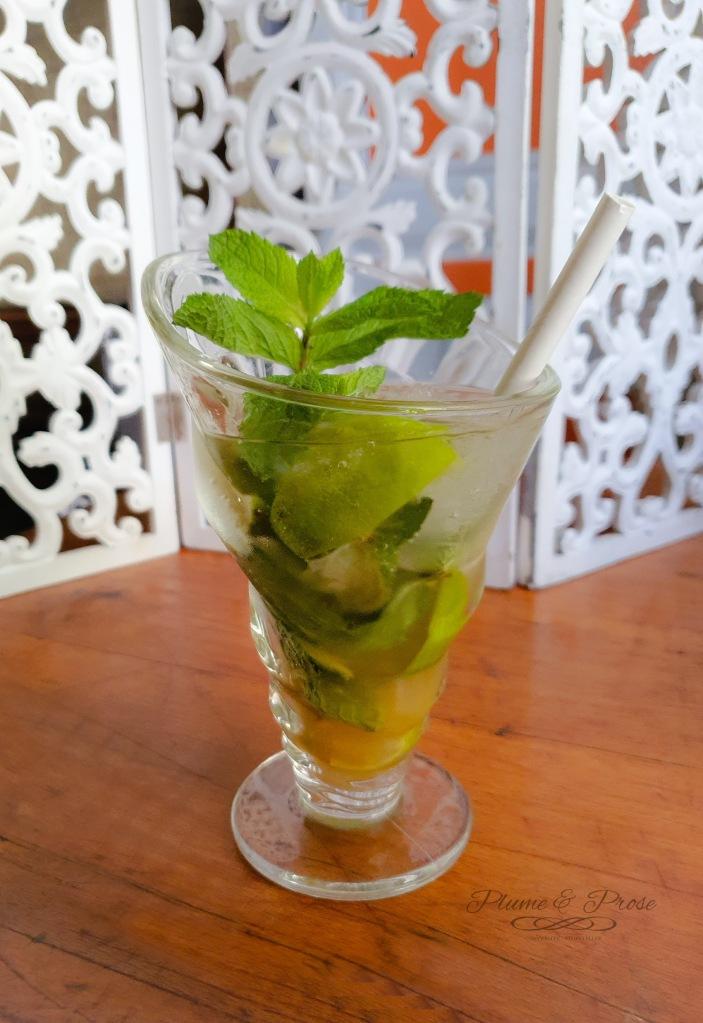 """Virgin Mojito"" ou le cocktail menthe-citron vert cubain"
