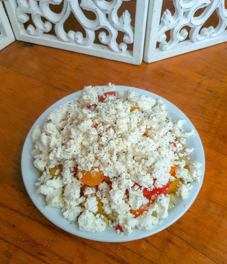 """""""Shopska"""" ou la salade des Balkans"""