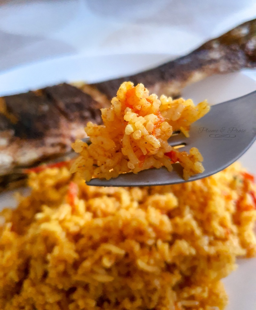 """Riz Pulao"" ou le riz pilaf pakistanais"