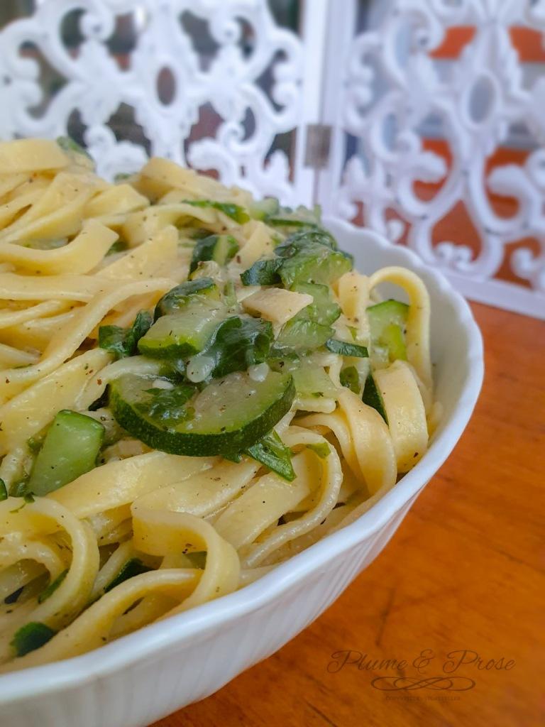 """""""Pasta alle Zucchine"""" ou les pâtes aux courgettes à l'italienne"""