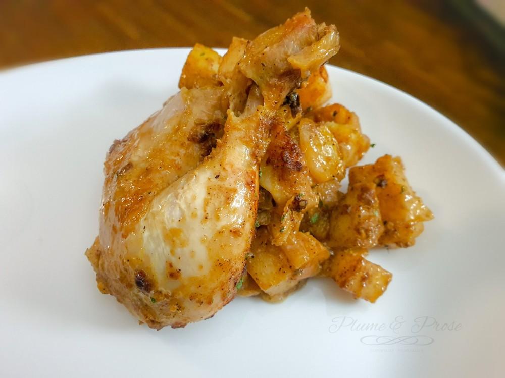 Envolons-nous pour l'Afrique avec ce délicieux Poulet rôti