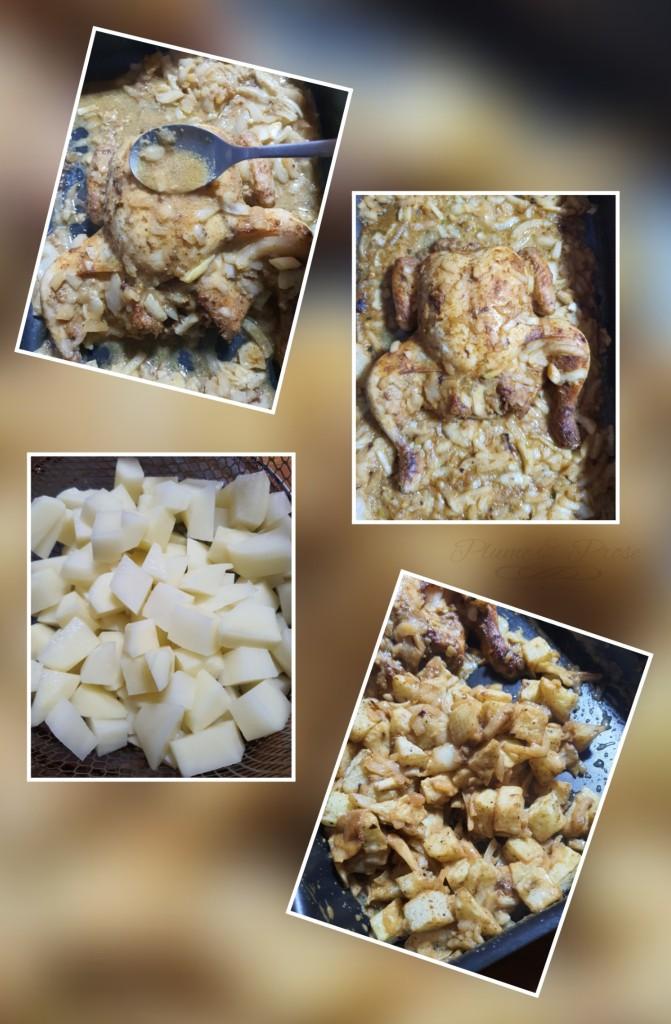 Poulet rôti à l'africaine