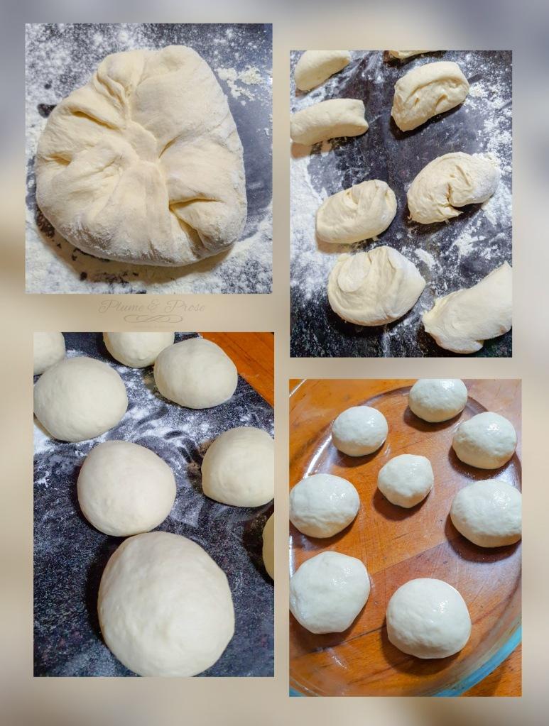 Préparation des pains ukrainiens