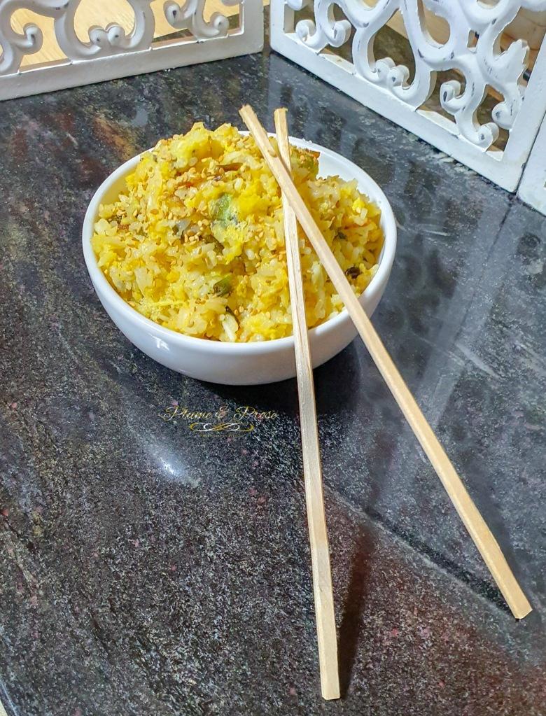 """""""Gyelan Bokk-Eumbab"""" ou le riz frit aux oeufs Sud Coréen"""