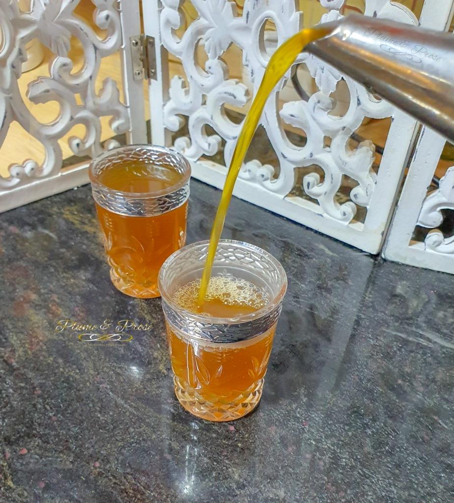 Succombez aux saveurs exquises d'un thé à la menthe