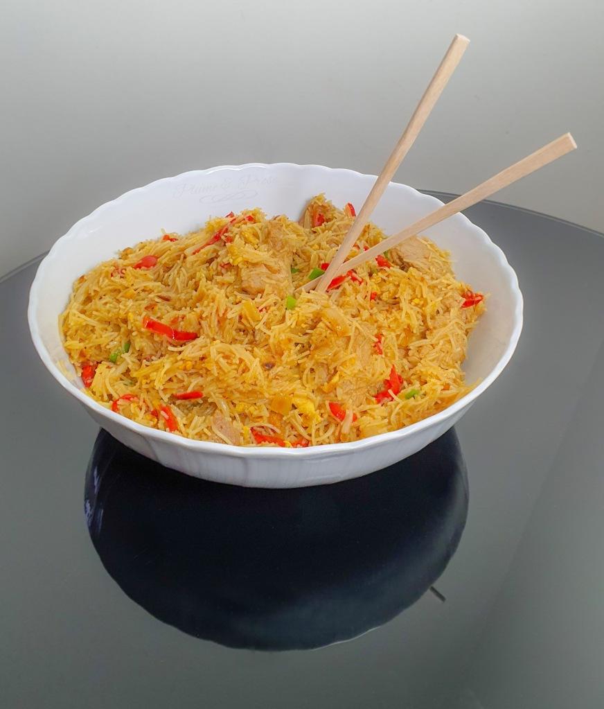 """""""Noodle Stir Fry"""" ou les nouilles sautées de Singapour"""