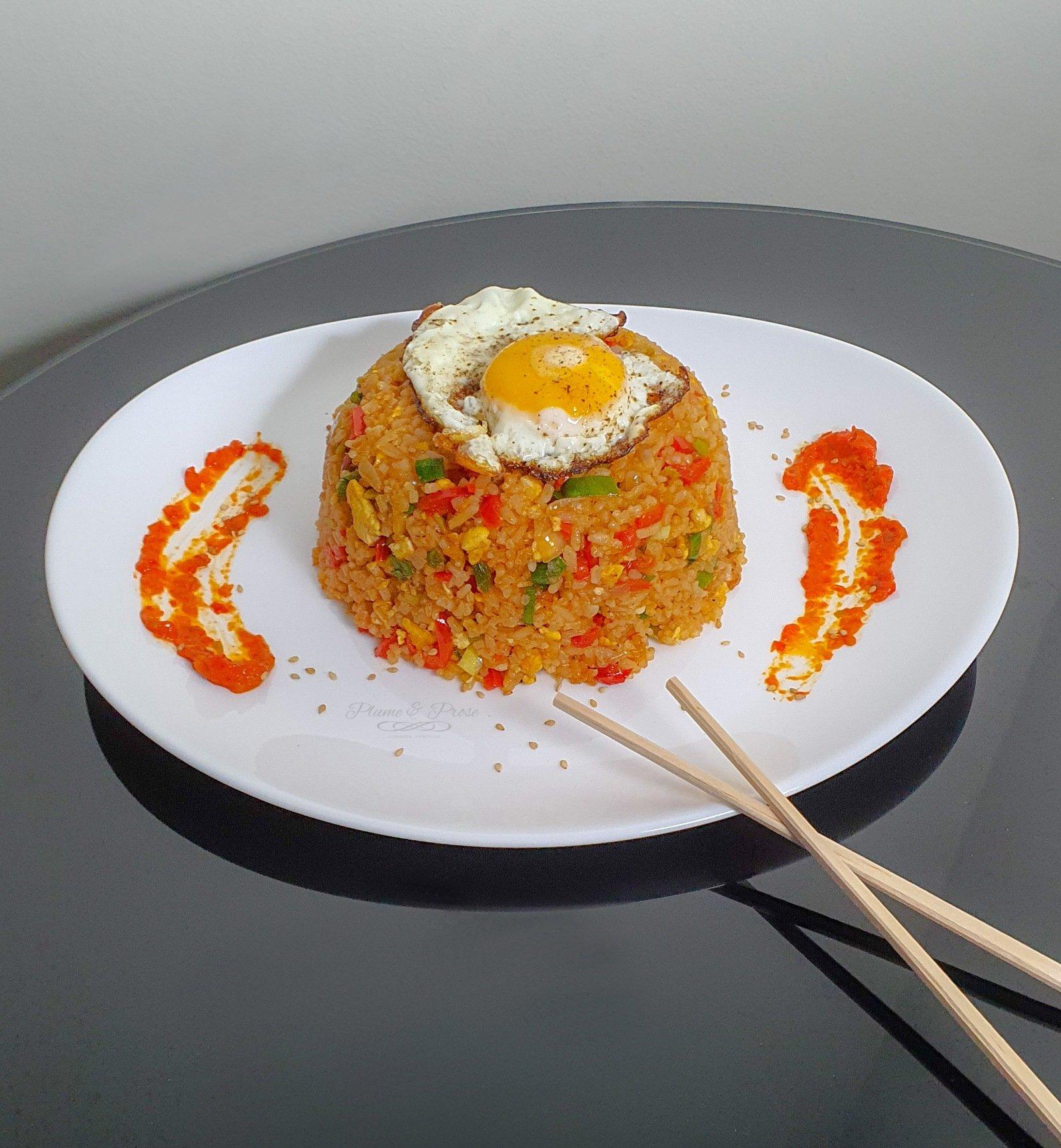 """Nasi Goreng"" ou le riz frit indonésien"