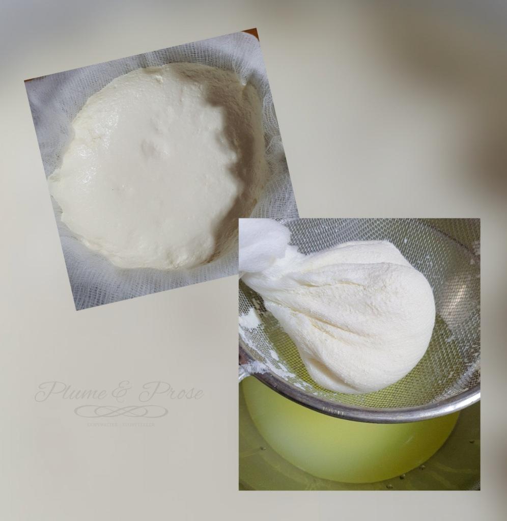 Préparation du fromage frais de Moldavie