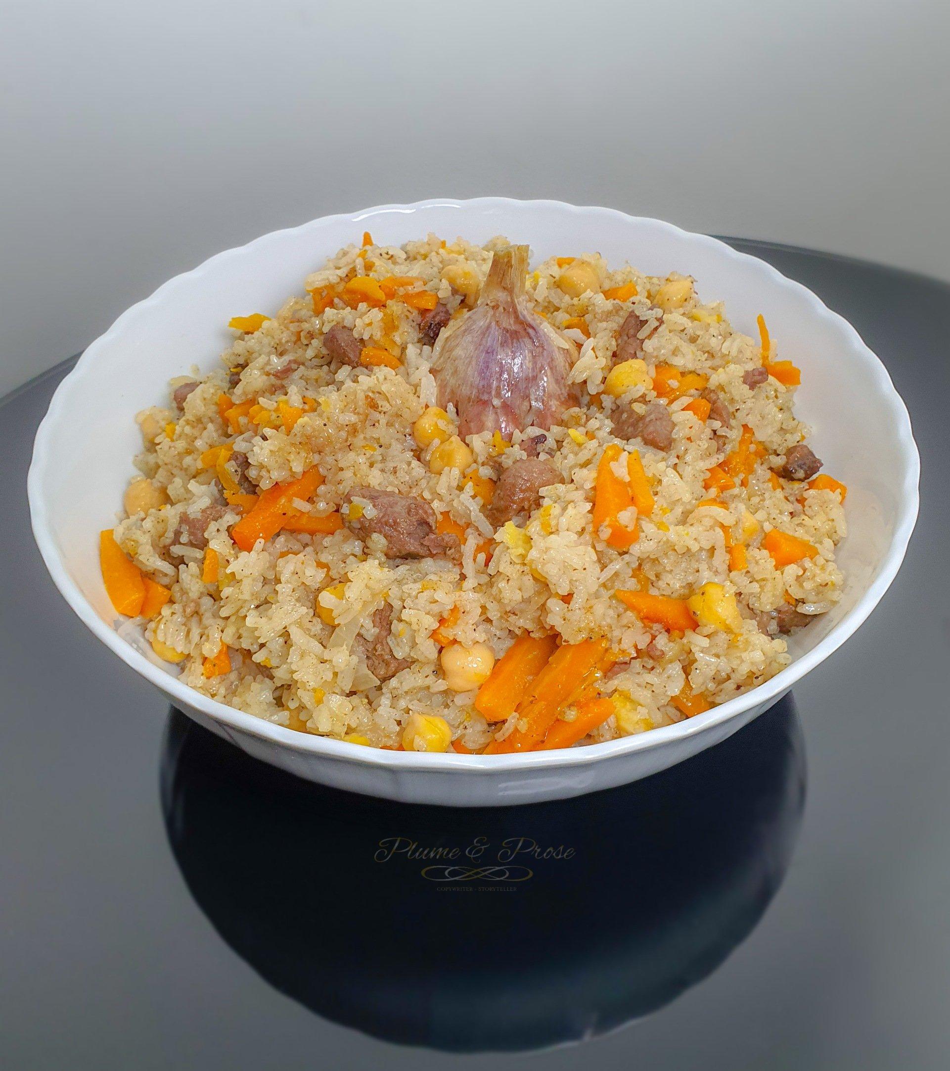 """""""Plov"""" ou le riz traditionnel d'Asie Centrale"""
