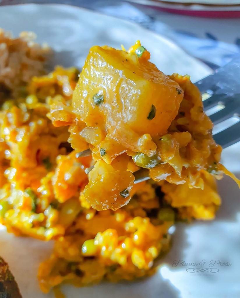"""""""Misayeko Tarkari"""" ou le curry de chou fleur tout droit venu du Népal"""