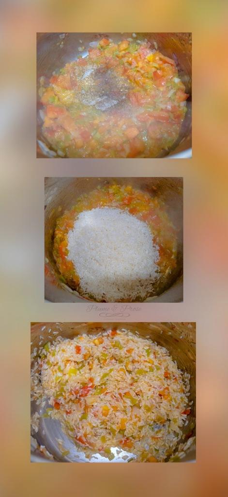 Préparation du riz salavodrien