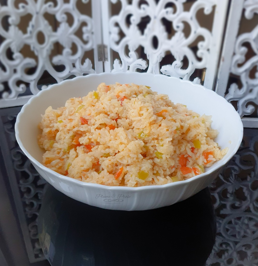 """Arroz Salvadoreño"" ou le riz Salvadorien"