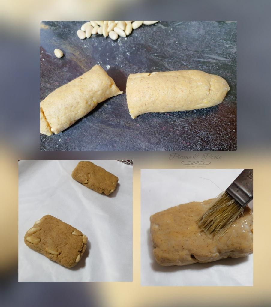 Préparation des carquinyolis