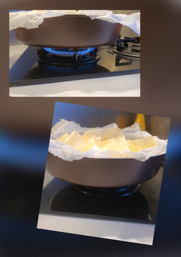 Préparation de la tourte de Jamie Oliver