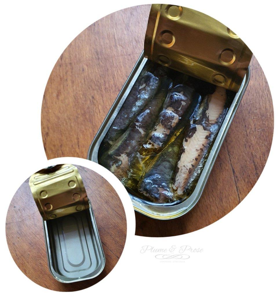 Préparation des rillettes de sardines