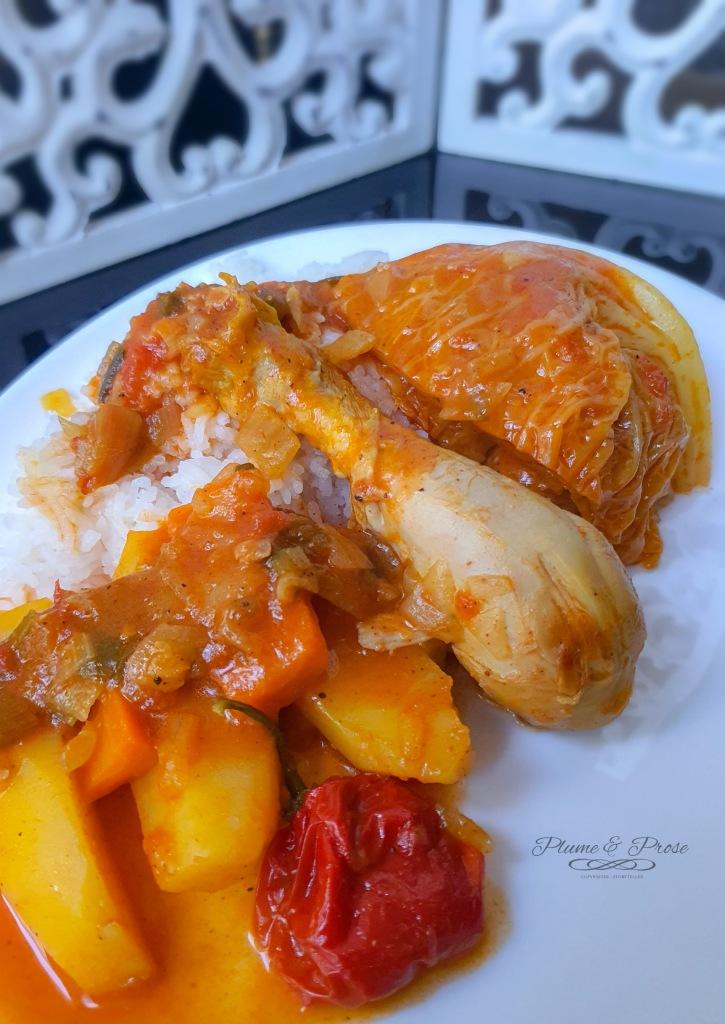 """""""Soupou Tehou"""" ou le ragoût guinéen simple et sain"""