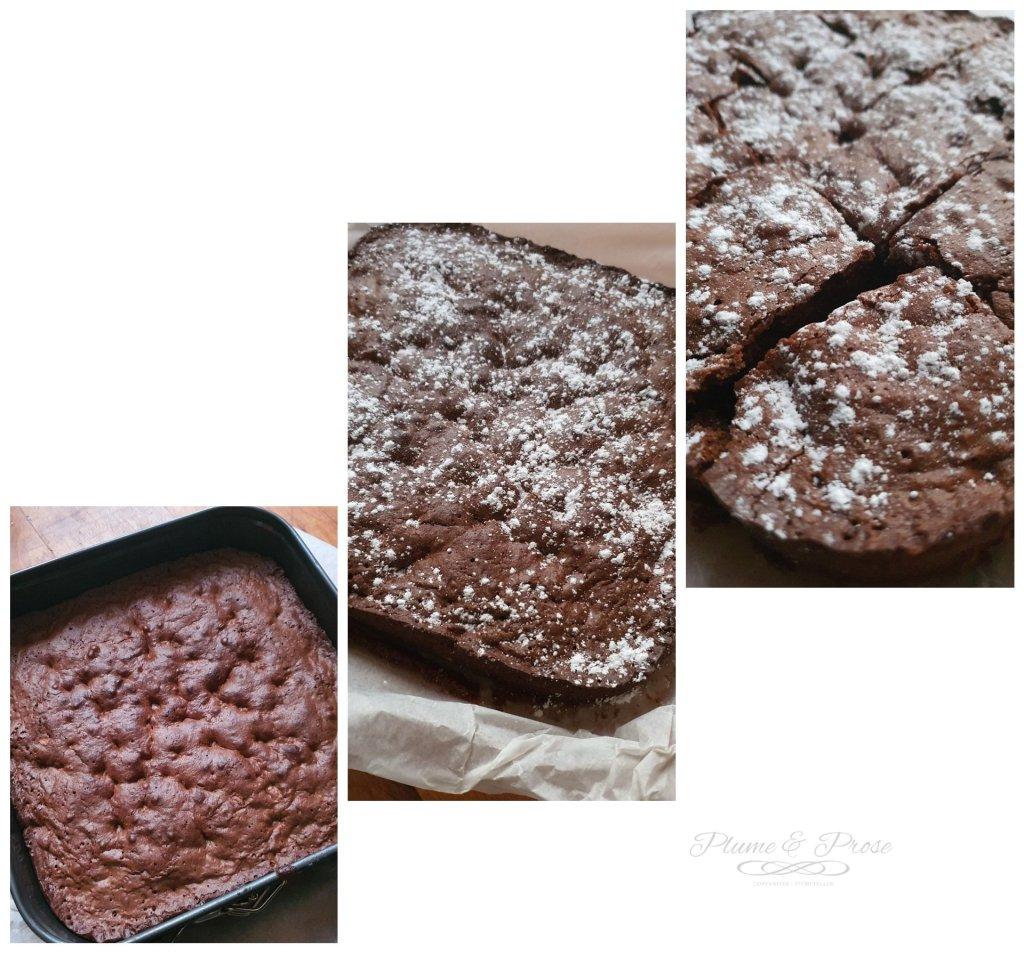 Préparation du brownie