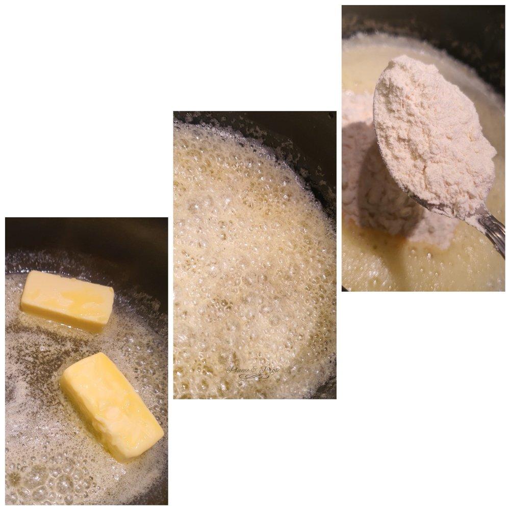 Préparation des lasagnes nordiques