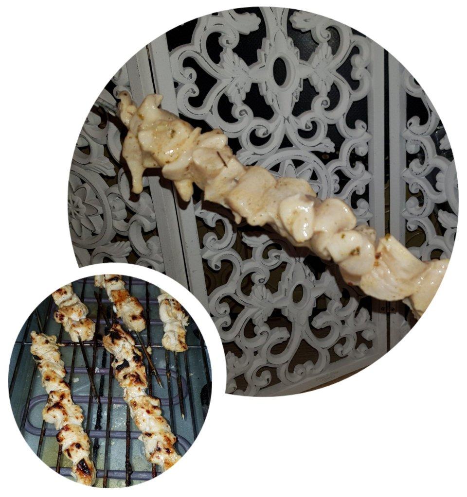 Préparation des Chich Taouk