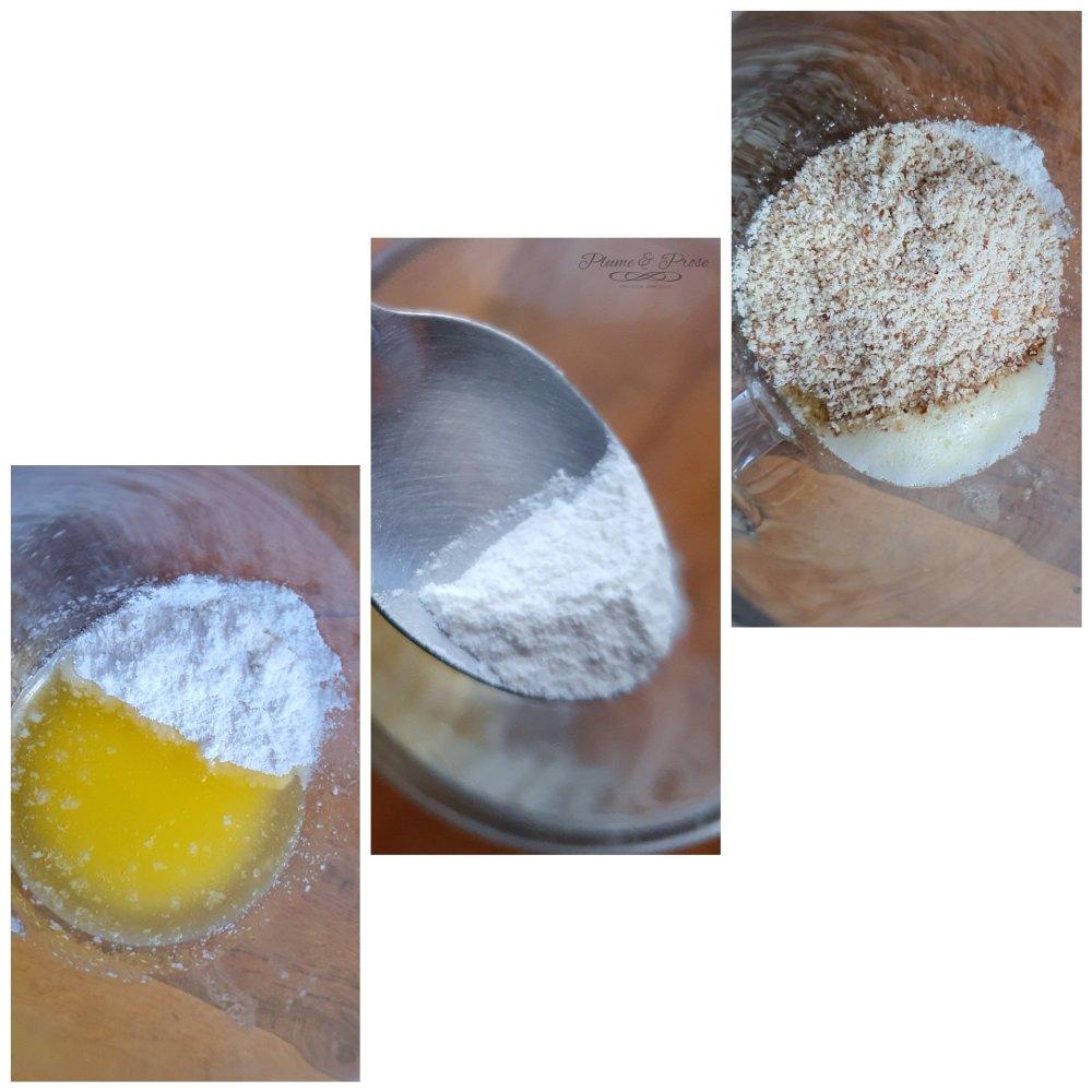 Préparation du pain kéto express