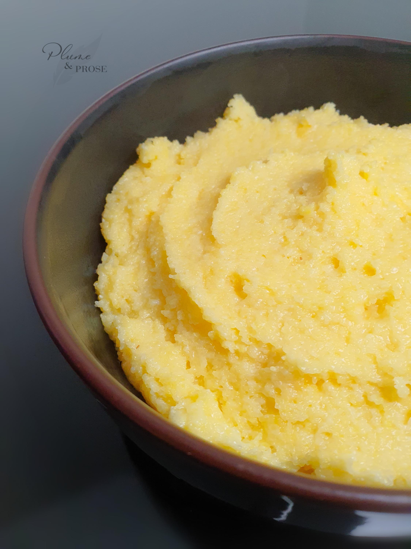 Laissez-vous tenter par cette Polenta crémeuse au parmesan