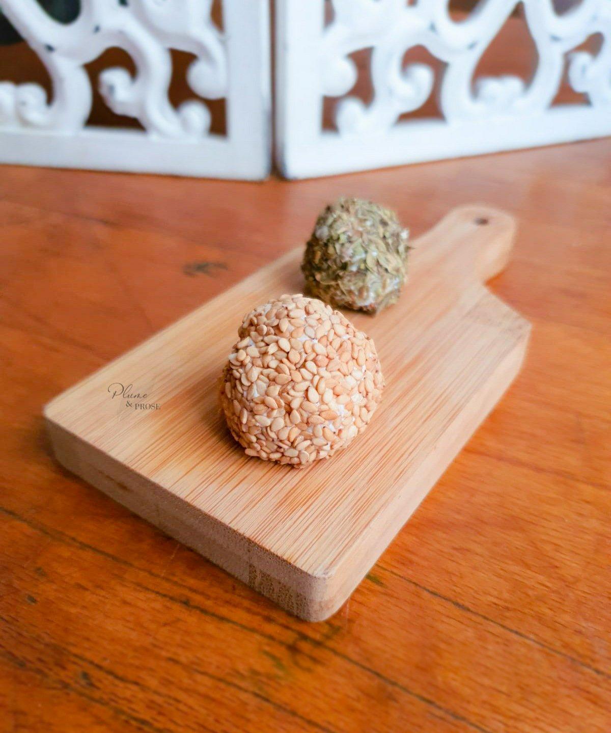 """""""Cheese Balls"""" ou les Boulettes de fromage frais de Gut"""