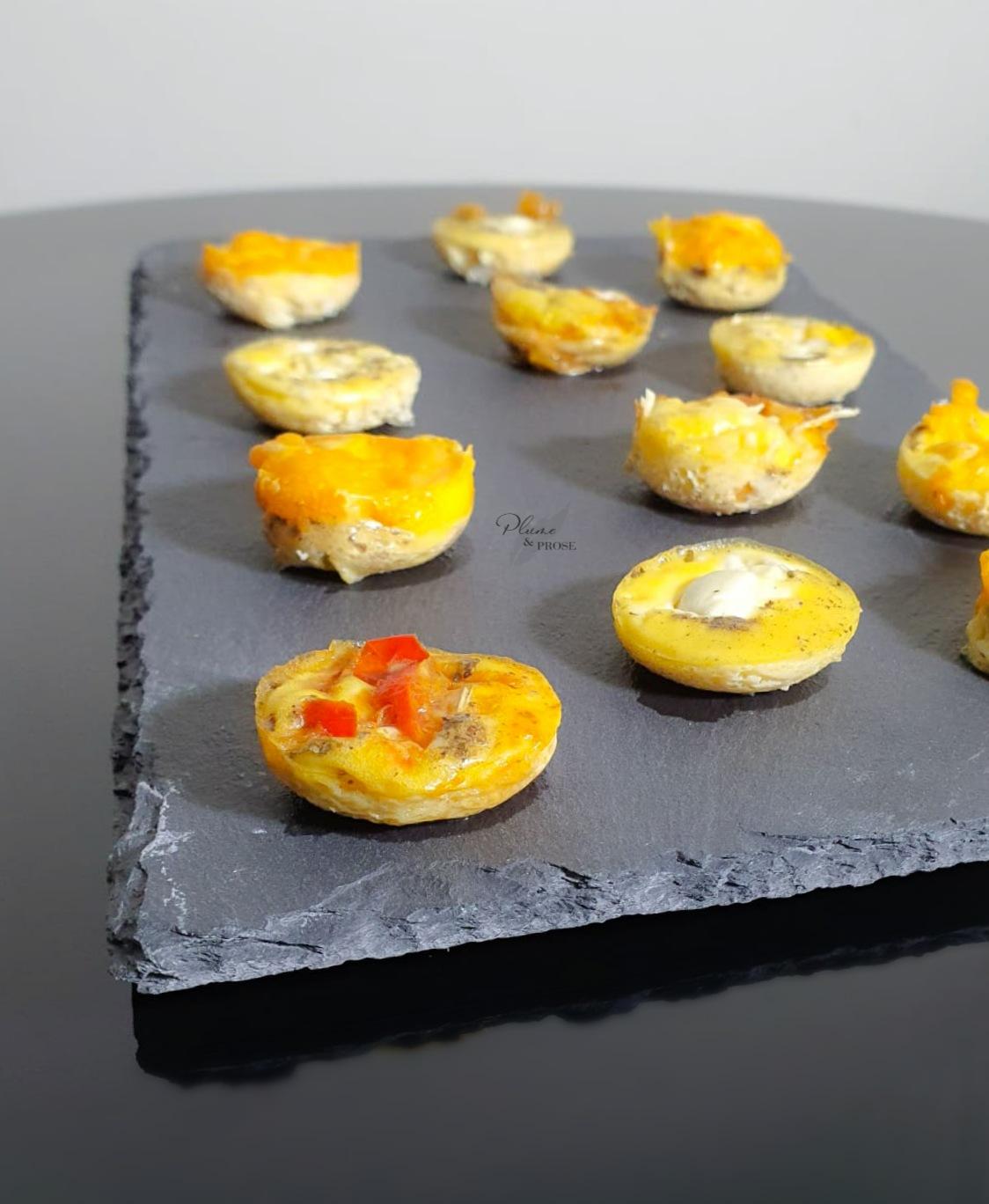 Que diriez-vous d'une bouchée gourmande d'omelette ?