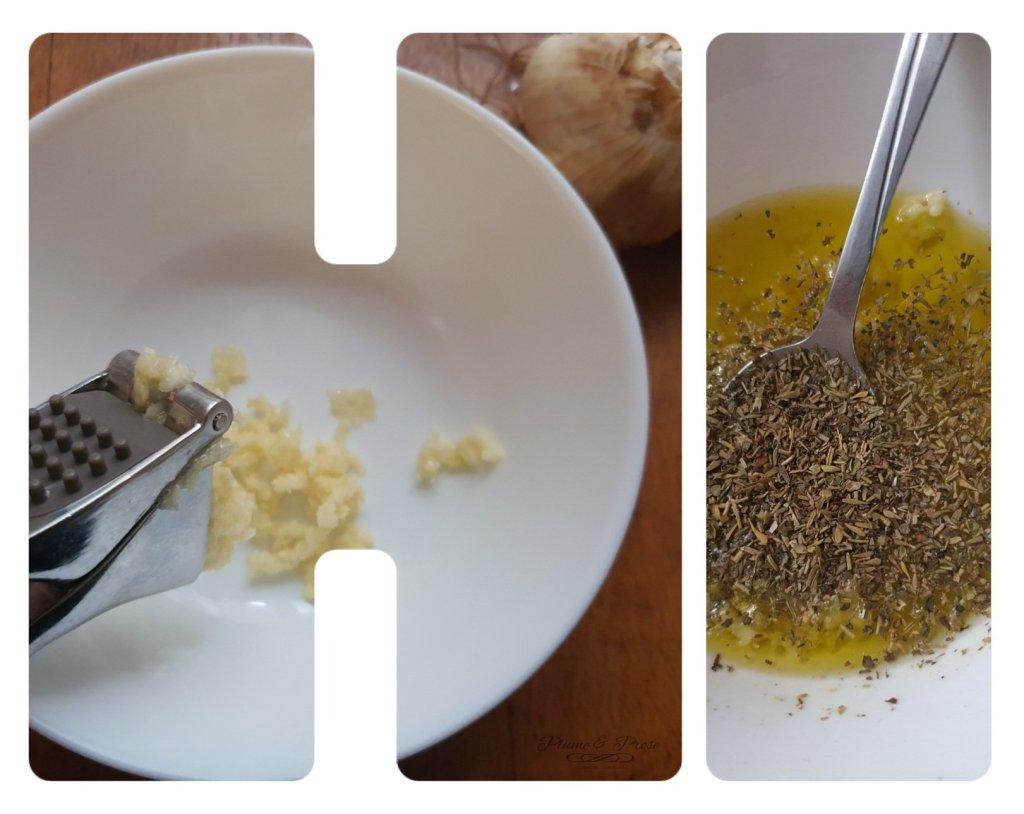 Préparation du camembert rôti