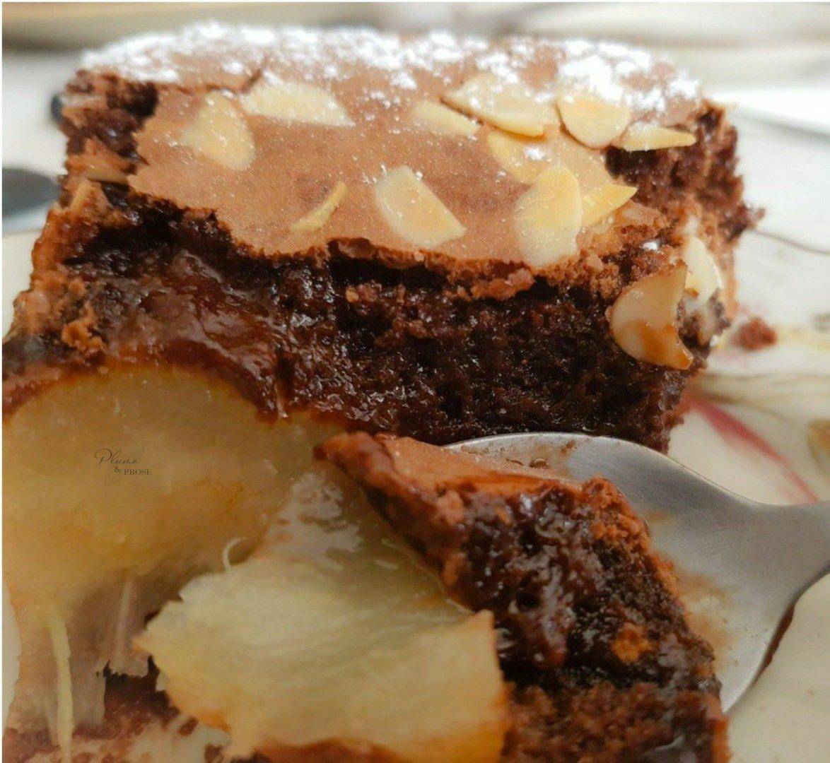 Succombez à la gourmandise de la poire et du chocolat