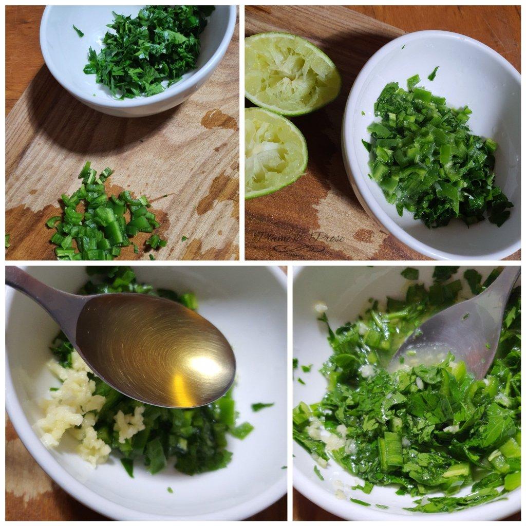 Préparation de la sauce aigre-douce birmane