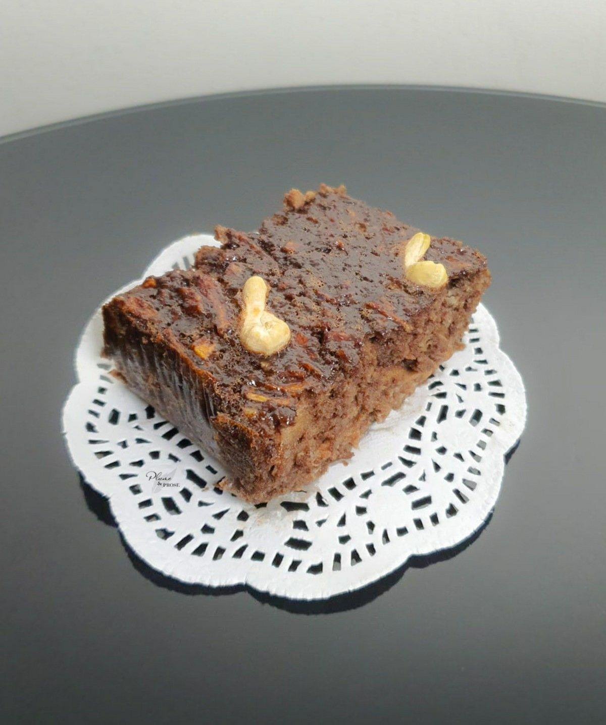 Succombez sans remords à ce Gâteau au chocolat à la purée de pommes