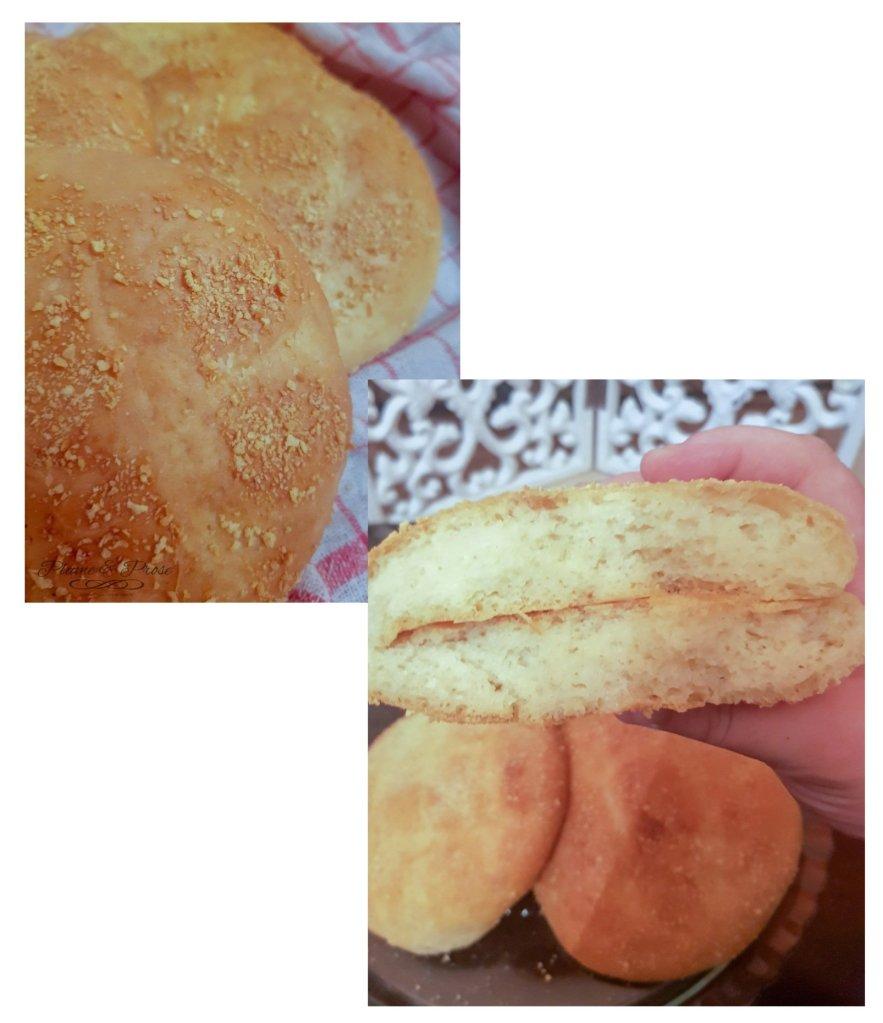 Préparation des petits pains, sans pétrissage, au Lben