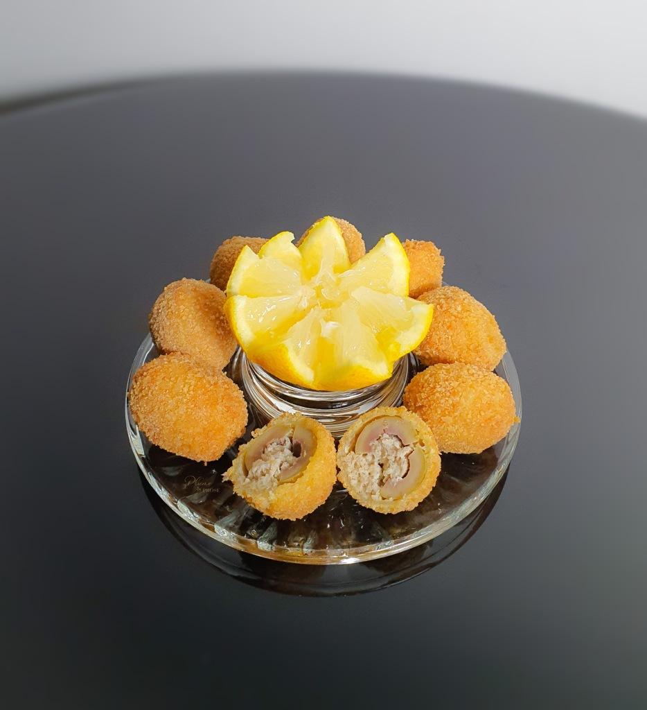 """""""Olive all'ascolana"""" ou les olives farcies à l'ascolane"""