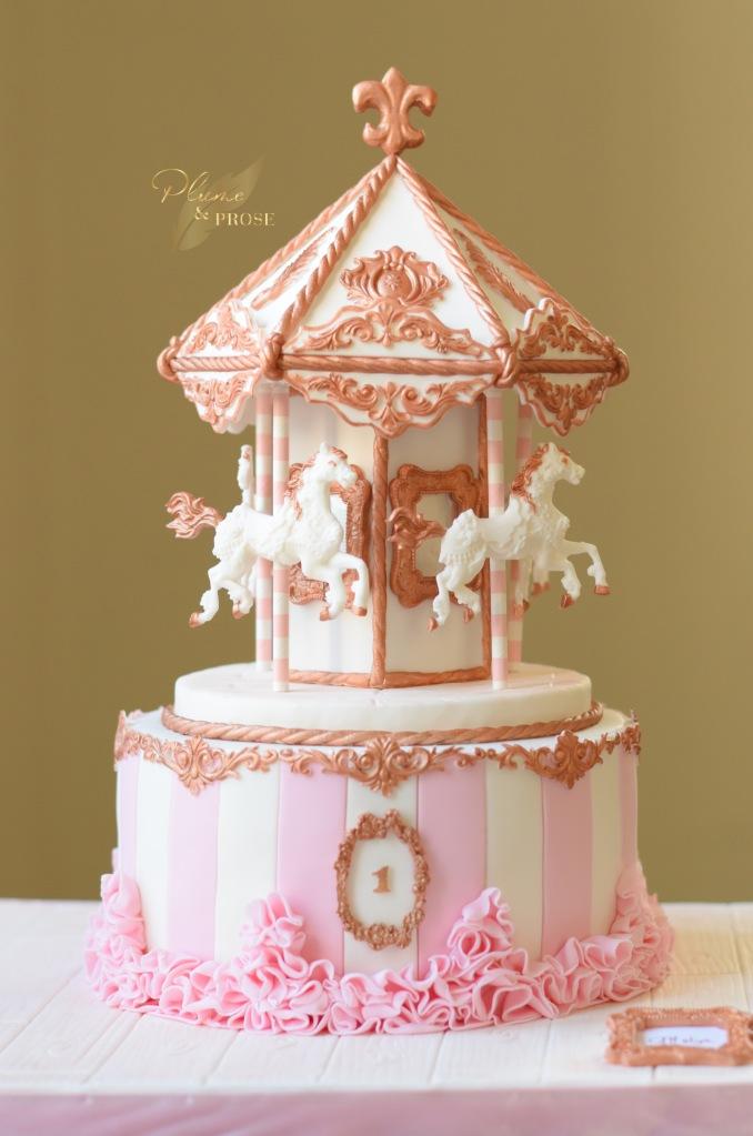 """""""Carousel Cake"""" ou Mon Carrousel Gourmand"""