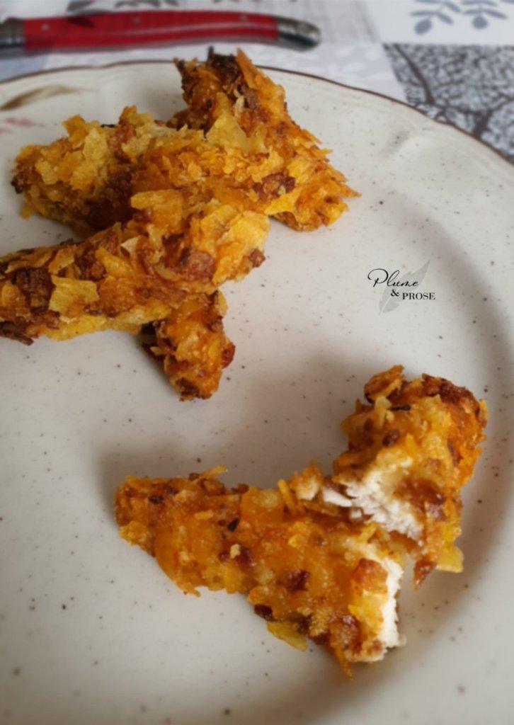 """""""Chicken Tender Crispy"""" ou les bâtonnets de poulet allégés"""