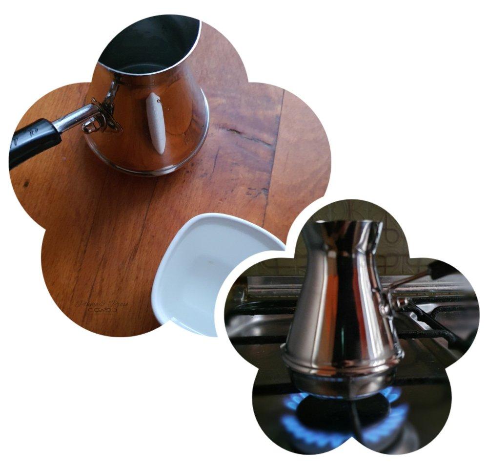 Préparation du café serbe