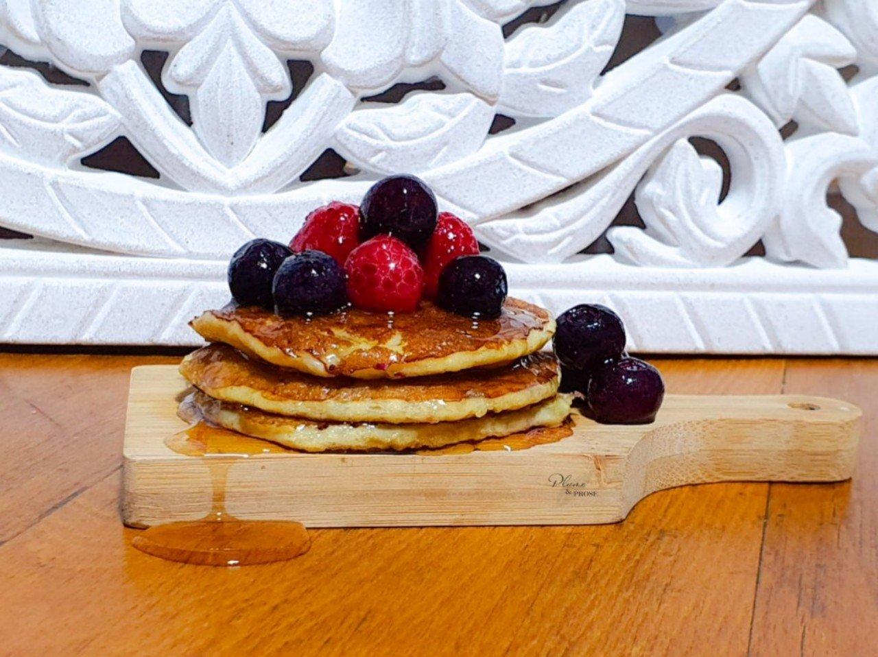 """""""Pancake Express"""" ou le Pancake """"Healthy"""" aux 2 ingrédients"""