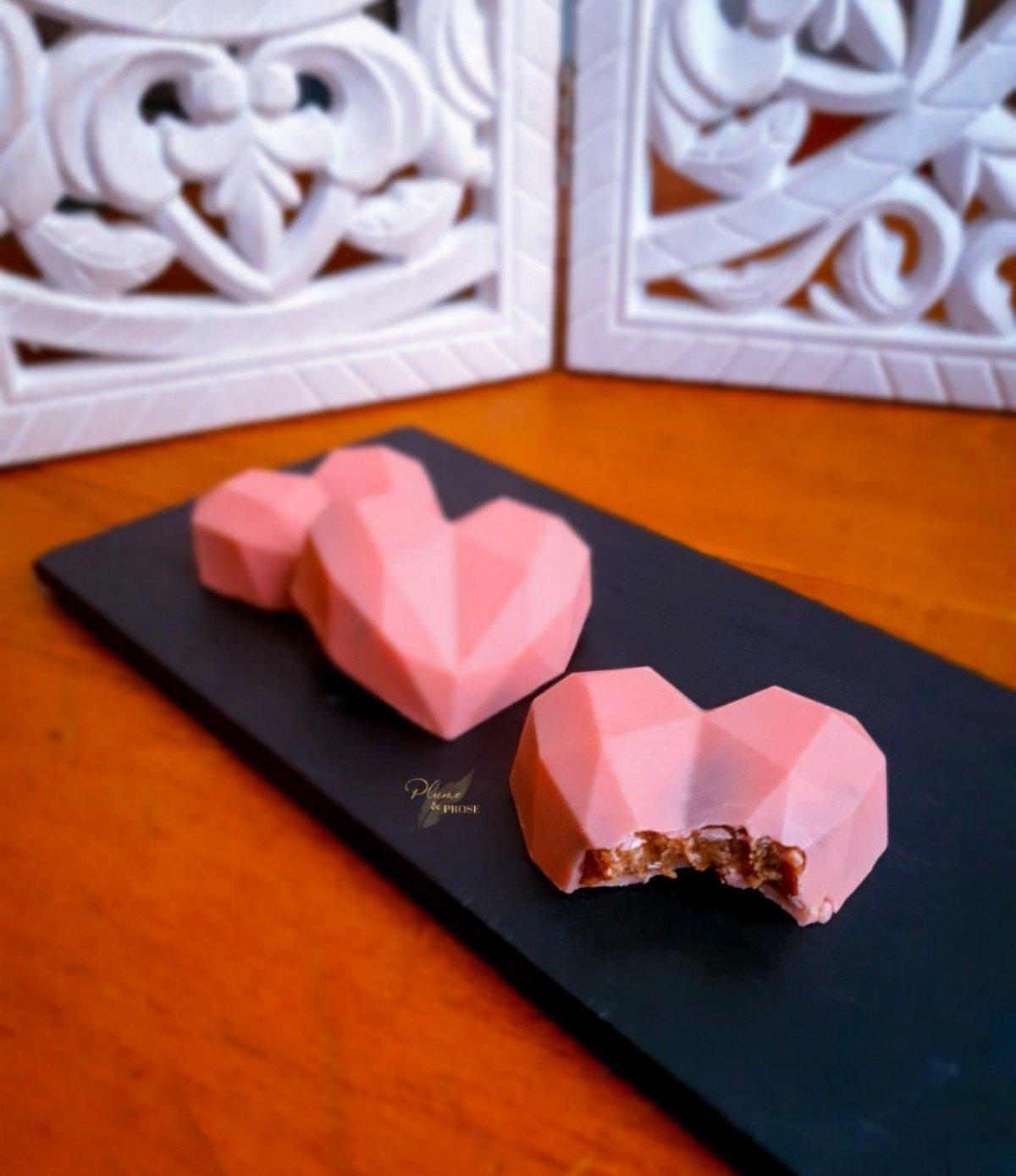 """""""Heart Cakesicle"""" ou le Cœur gourmand"""