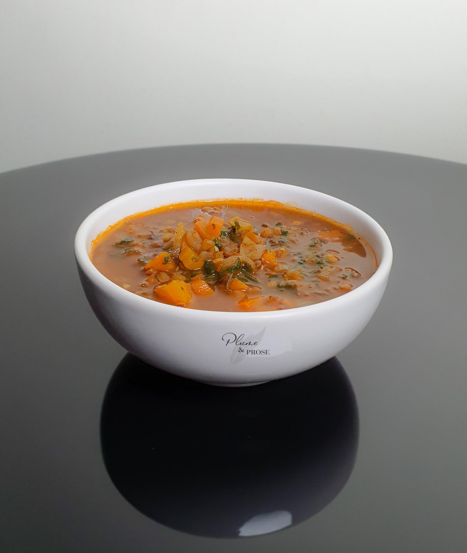 Laissez-vous tenter par cette savoureuse soupe de lentilles