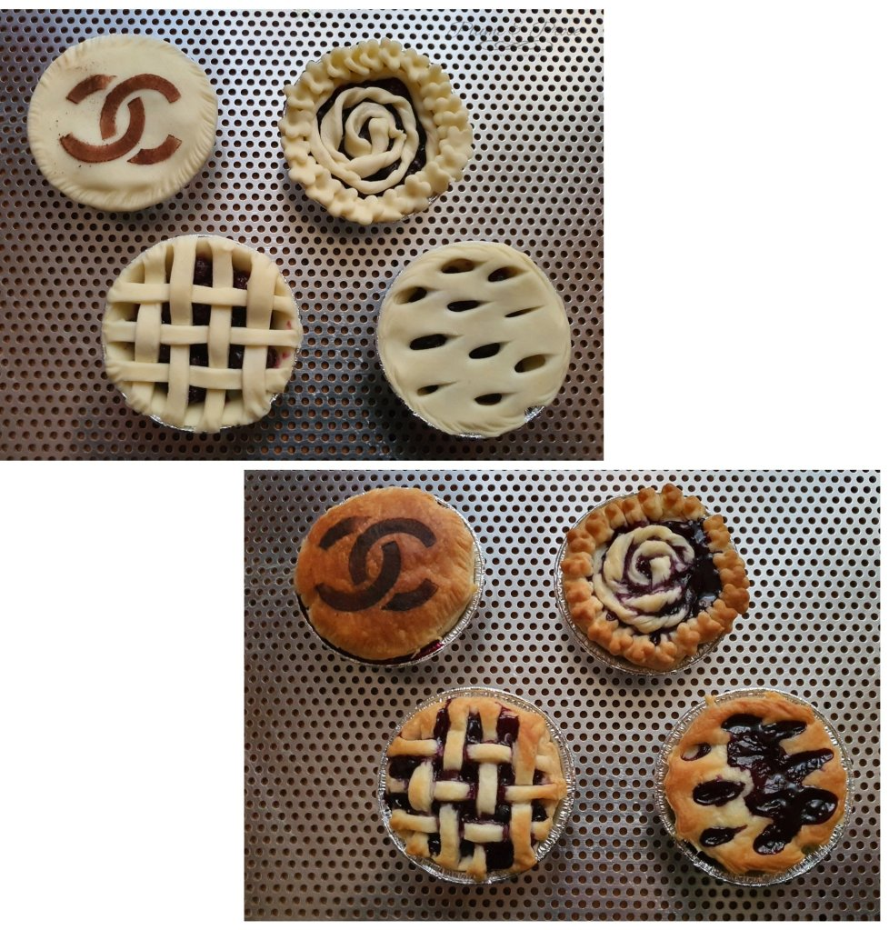 """Préparation de la """"Blueberry Pie"""""""