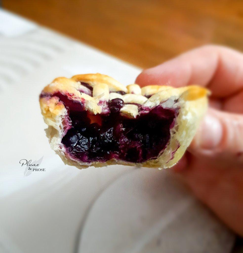 """""""Blueberry Pie"""" ou le délice simple aux myrtilles"""