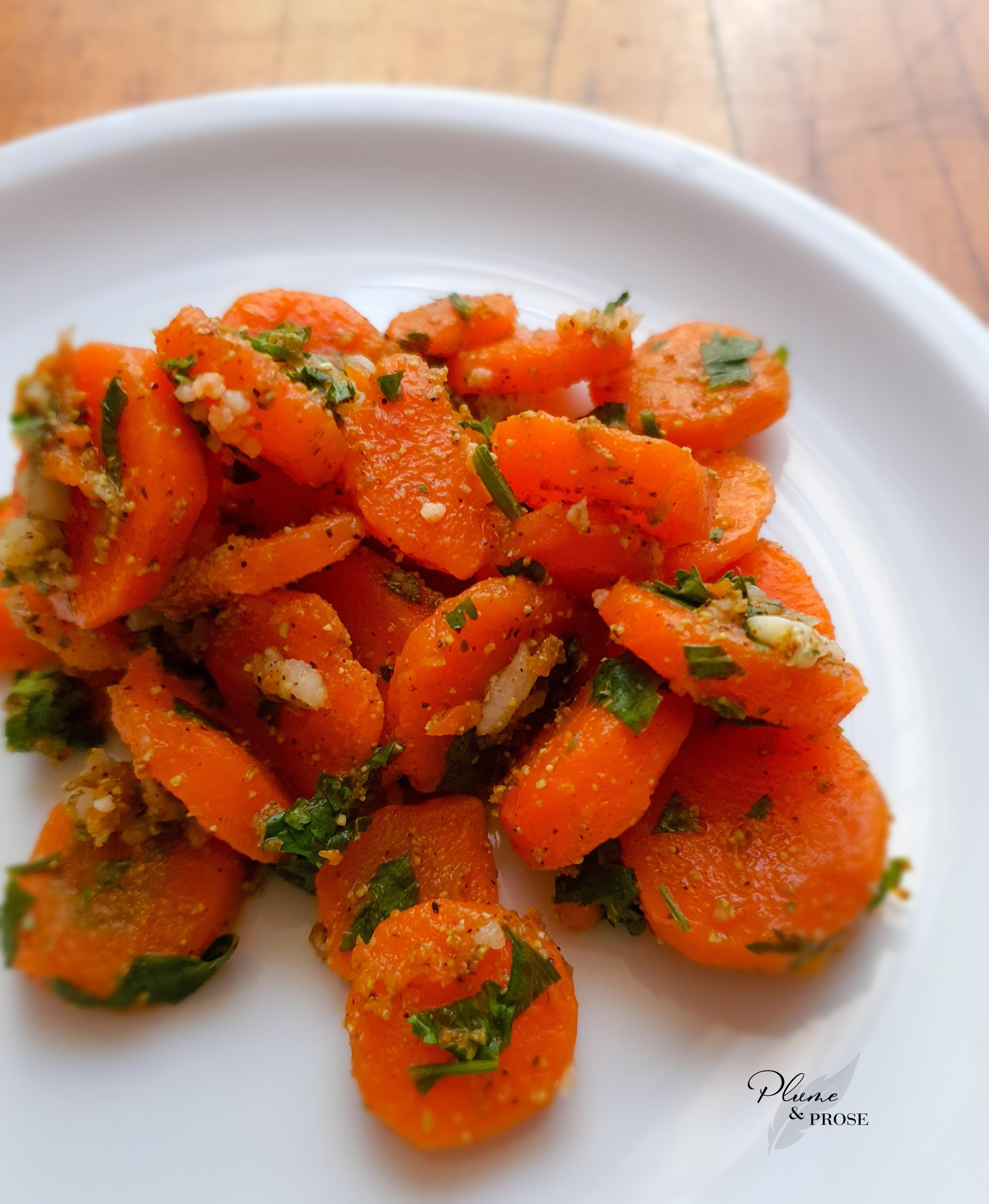"""""""Khizou Mchermel"""" ou la Salade de carottes à la marocaine"""